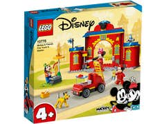 LEGO Disney Estación y Camión de Bomberos de Mickey y sus Amigos 10776