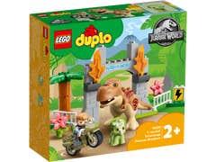 LEGO DUPLO Fuga del T-Rex y el Triceratops 10939