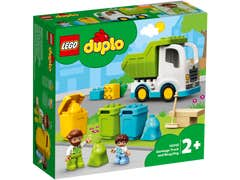 LEGO DUPLO Camión de Residuos y Reciclaje Mi Pueblo 10945