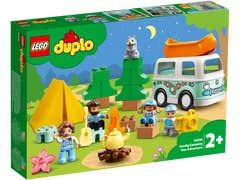 LEGO DUPLO Aventura en la Casa Rodante Familiar 10946