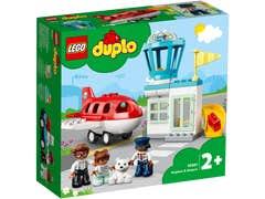 LEGO DUPLO Avión y Aeropuerto 10961
