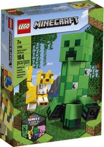 Lego 21156 BigFig: Creeper™ y Ocelote