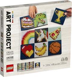 PREVENTA LEGO Art Proyecto de Arte Creación Conjunta 21226