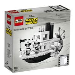 Lego 21317 El Barco de Vapor Willie