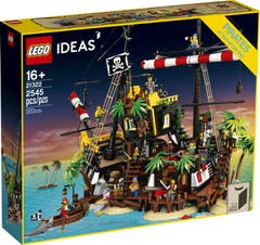 LEGO® Ideas 21322 Piratas de Bahía Barracuda
