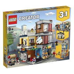 LEGO® Creator 31097 Tienda de Mascotas y Cafetería