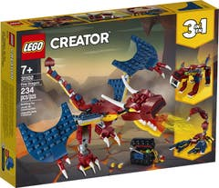 Lego 31102 Dragón Escupefuego