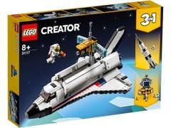 LEGO Creator Aventura en Transbordador Espacial 31117