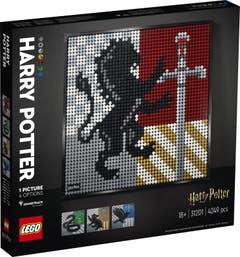 LEGO® Art 31201 Harry Potter™ Hogwarts™ Crests