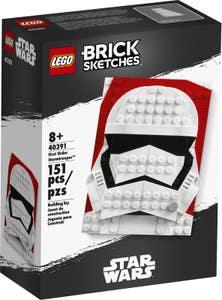 LEGO® Merchandise 40391 LEGO® Brick Sketches™: Soldado de Asalto