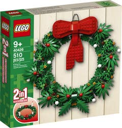 "LEGO Merchandise Corona de Navidad ""2 en 1"" 40426"