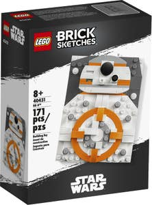 LEGO BrickSketches BB-8 40431