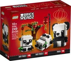 LEGO Merchandise Pandas del Año Nuevo Chino 40466