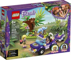 LEGO® Friends 41421 Rescate en la Jungla del Bebé Elefante