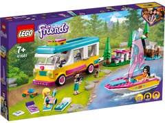 LEGO Friends Bosque: Casa Rodante y Barco de Vela 41681