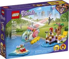 LEGO® Friends 41692 Helicóptero de Rescate de la Clínica Veterinaria