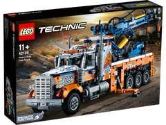 LEGO Technic Camión Remolcador de Gran Tonelaje 42128