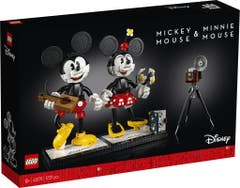 LEGO® Disney Princess™ 43179 Personajes Construibles: Mickey Mouse y Minnie Mouse