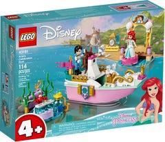 LEGO Disney Princess Barco de Celebración de Ariel 43191