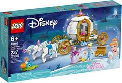 LEGO® Disney Princess™ 43192 Carruaje Real de Cenicienta