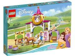 LEGO Disney Establos Reales de Bella y Rapunzel 43195