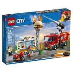 LEGO® City Fire 60214 Rescate del Incendio en la Hamburguesería