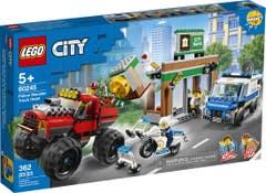 LEGO® City Police 60245 Policía: Atraco del Monster Truck