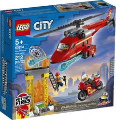 LEGO® City Fire 60281 Helicóptero de Rescate de Bomberos