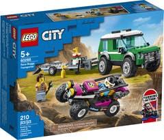 LEGO® City Great Vehicles 60288 Furgoneta de Transporte del Buggy de Carreras