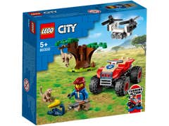 LEGO City Rescate de la Fauna Salvaje: Cuatrimoto 60300