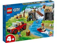 LEGO City Rescate de la Fauna Salvaje: Auto Todoterreno 60301