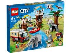 LEGO City Rescate de la Fauna Salvaje: Campamento 60307