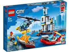 LEGO City Policías y Bomberos: Misión en la Costa 60308