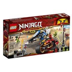 Lego 70667 Moto Acuchilladora de Kai y Moto de Nieve de Zane
