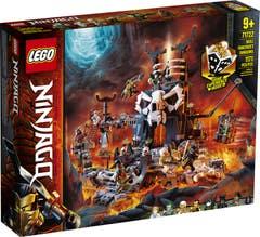 LEGO® NINJAGO® 71722 Mazmorras del Brujo de los Muertos