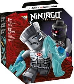 LEGO NINJAGO Set de Batalla Legendaria: Zane vs Nindroide 71731
