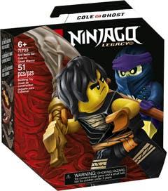 LEGO NINJAGO Set de Batalla Legendaria: Cole vs Guerrero Fantasma 71733