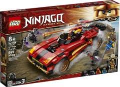LEGO® NINJAGO® 71737 Deportivo Ninja X-1
