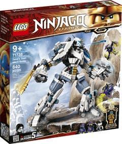 LEGO® NINJAGO® 71738 Combate en el Titán Robot de Zane