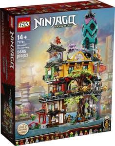 LEGO® NINJAGO® 71741 Jardines de la Ciudad