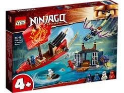 LEGO NINJAGO Vuelo Final del Navío del Destino 71749
