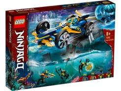 LEGO NINJAGO Submarino Anfibio Ninja 71752