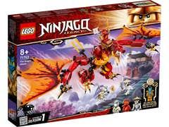 LEGO NINJAGO Ataque del Dragón de Fuego 71753