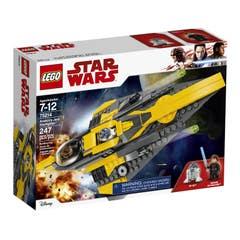 LEGO® Star Wars™ 75214 Caza estelar Jedi de Anakin