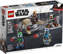 LEGO® Star Wars™ Mandalorian 75267 Pack de Combate: Mandalorianos