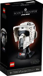 PREVENTA LEGO® Star Wars™ 75305 Stormtrooper SpeederBike Helmet
