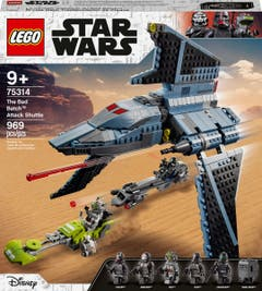 PREVENTA LEGO® Star Wars™ 75314 The Bad Batch™: Lanzadera de Ataque