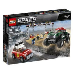 LEGO® Speed Champions 75894 Mini Cooper S Rally de 1967 y MINI John Cooper Works Buggy de 2018