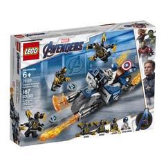 LEGO® Marvel Avengers 76123 Capitán América: Ataque de los Outriders