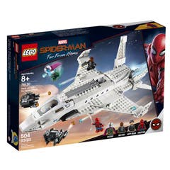 LEGO® Marvel Super Heroes 76130 Jet Stark y el Ataque del Dron